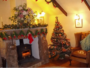 Christmas holiday in the Byre